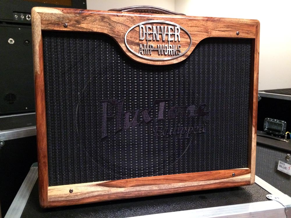 Trainwreck Style in Custom Rosewood Cabinet