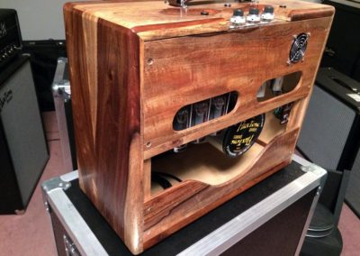 Trainwreck Style in Custom Rosewood Cabinet Denver Amp Works