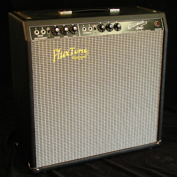BlackFace Fender Bassman Head
