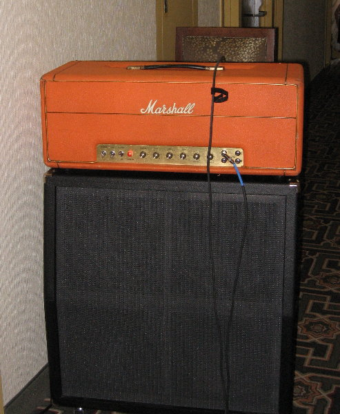 200 watt Marshall Major into 4-12 FluxTone cab